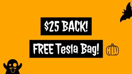 Free Tesla Giveaway