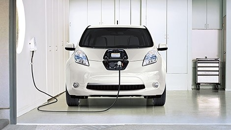 Nissan Leaf Electric Car Charger Install